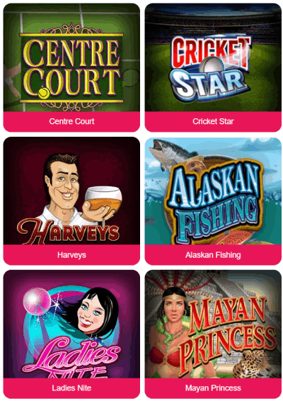 Spin Palace Casino Norge spill