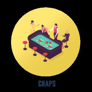 Craps på casino
