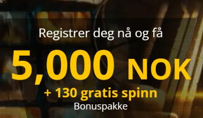 Bob Casino Norge bonus