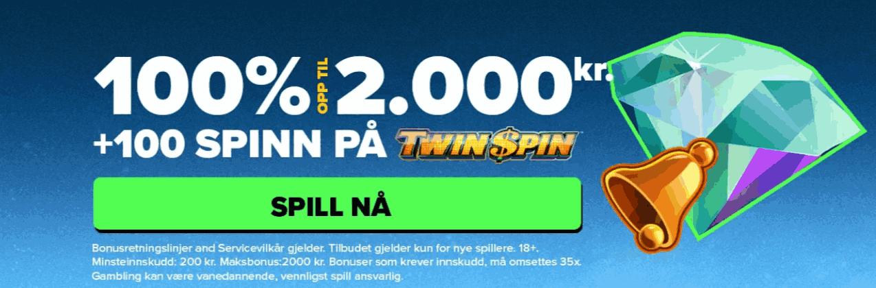Next Casino Norge bonus