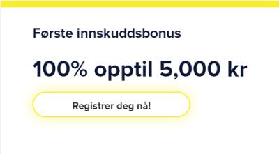 Light Casino Norge bonus