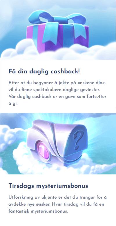 Wisho Casino Norge kampanjer