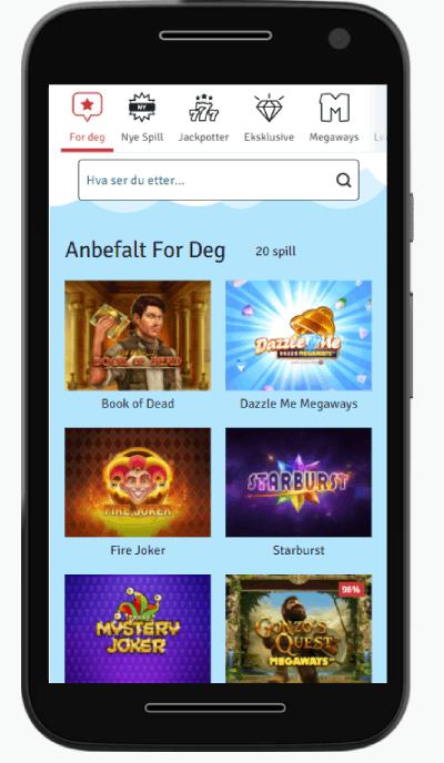 Bingo.com casino Norge spill