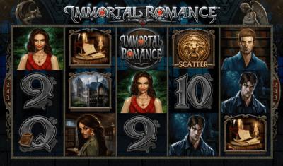 Immortal Romance Mega Moolah automat