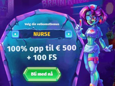 Casombie casino Norge bonus