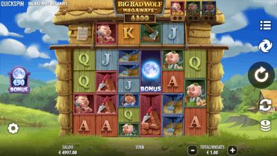 Big Bad Wolf Megaways – Quickspin spilleautomat