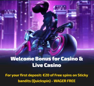 Casinozer Casino Norge bonus