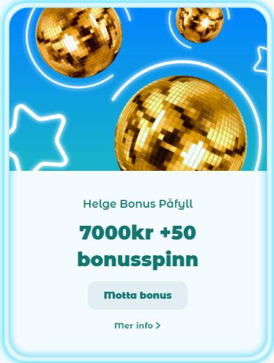 Neon54 Casino Norge kampanjer
