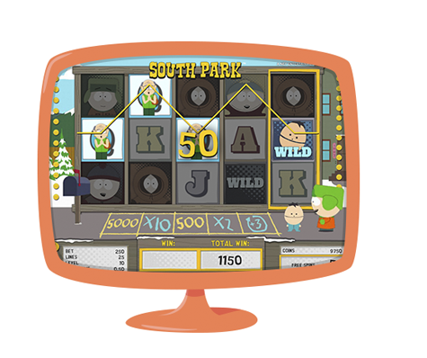 40 free spins South Park