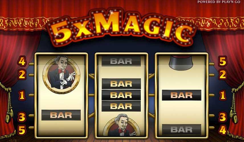 5x-Magic-automat