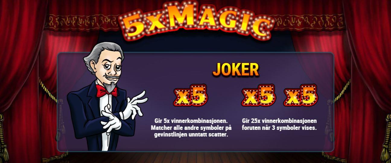 5x magic front