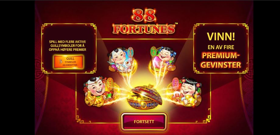 88 fortunes spill