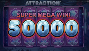 Attraction Wilds Super Mega Win