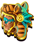 Aztec spins symbol 1