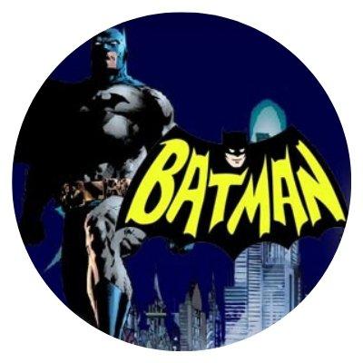 BATMAN- rundt bilde.