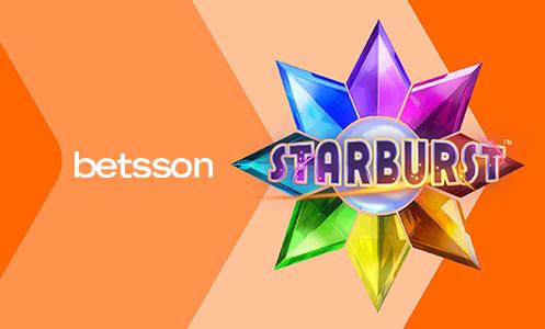 Betsson Starburst