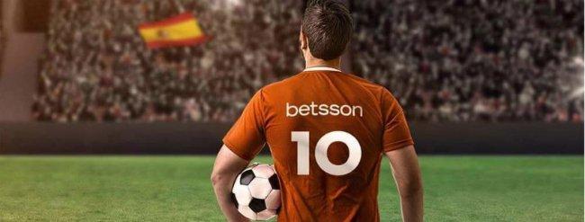 Spill odds hos Betsson.