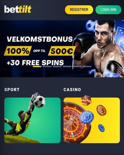 Bettilt casino velkomstbonus