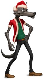 Big Bad Wolf Christmas Special Spesielle funksjoner