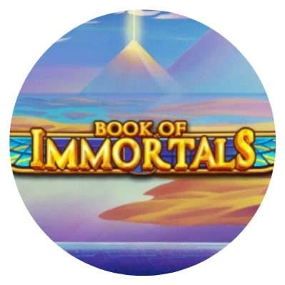 Book of Immortals - rundt bilde.