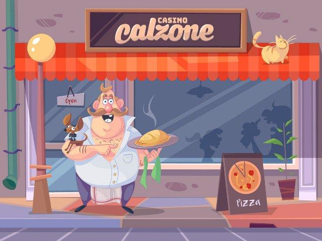 Casino Calzone har et spennende konsept.