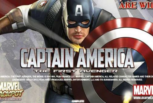 Captain America automat