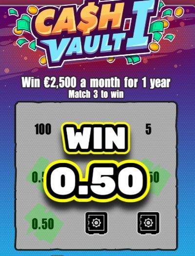 Cash Vault I vinn