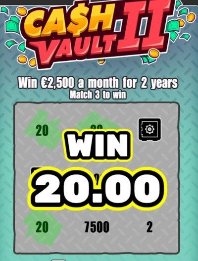 Cash Vault II vinn
