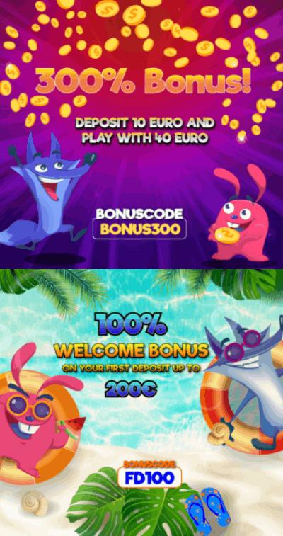 Cashimashi Casino Norge bonus