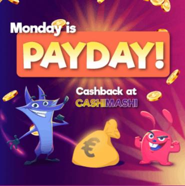 Cashimashi Casino Norge kampanjer