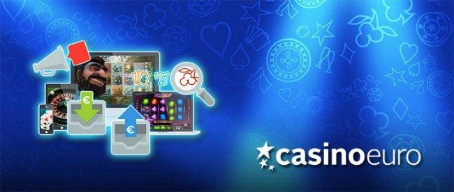 Casino Euro tilbyr mange typer spill.