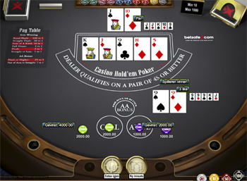 Casino Holdem screenshot