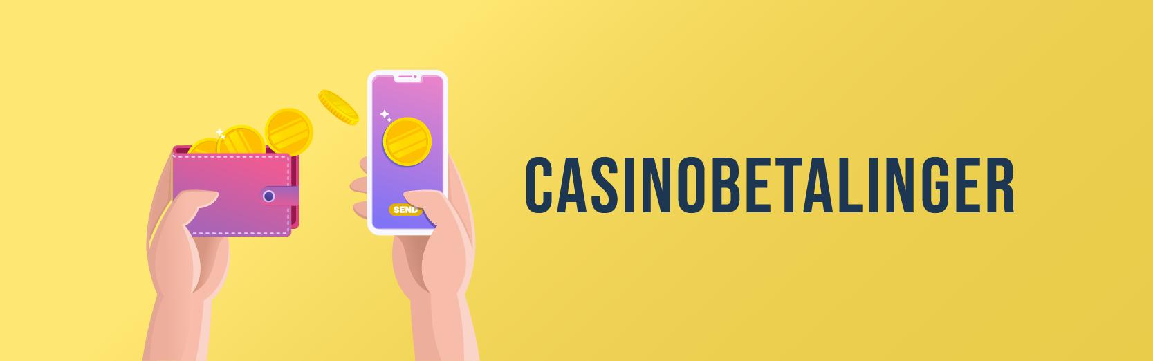 betalingsmetoder for casino