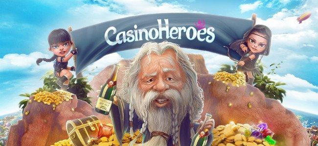 CasinoeHeroes har et stort utvalg av spill.