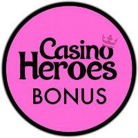 Få bonus på innskudd hos CasinoHeroes.