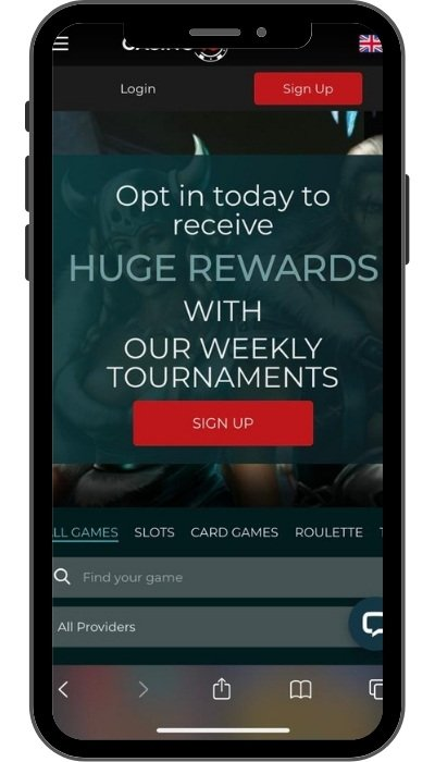 Casino4u mobil casino og app