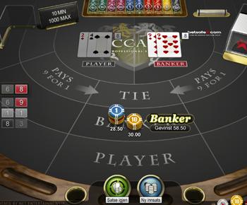 Casinoskolen - Baccarat