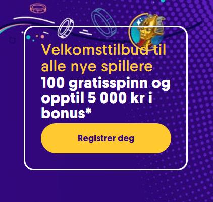Casumo Casino Norge bonus