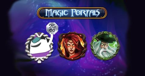 Casumo Free spins Magic Portals