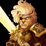 heroes hunt løve