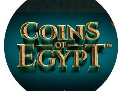 Coins of Egypt - rundt bilde.