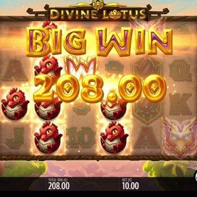 Divine Lotus Maksgevinster og jackpot