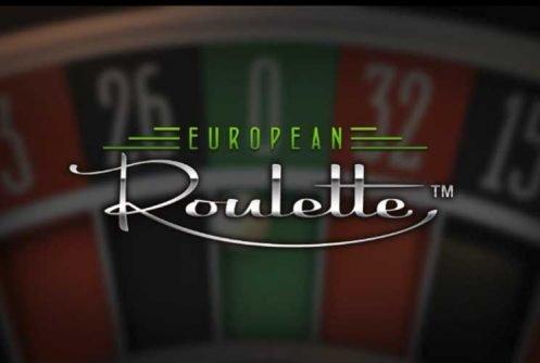 Europeisk roulette bordspill