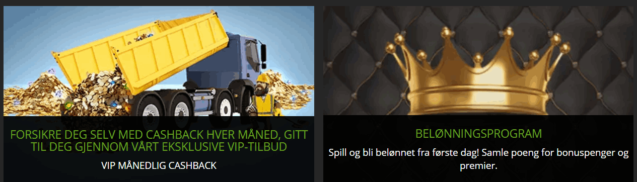 ExtraSpel Casino Norge kampanjer