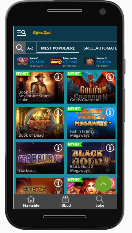 ExtraSpel Casino Norge spill