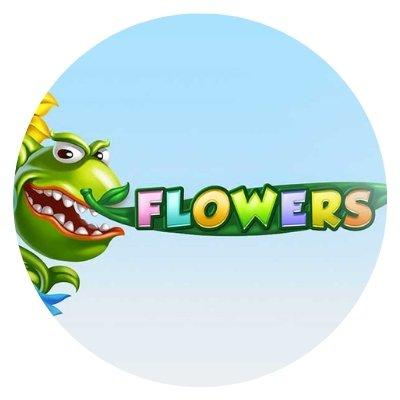 FLOWERS - rundt bilde.