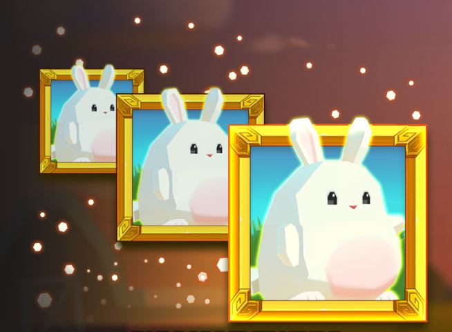 Gjør kaninen fetere i bonusspillet i Fat Rabbit.