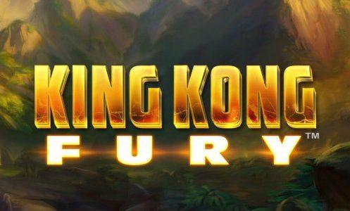 Spilleautomat med King Kong i hovedrollen.