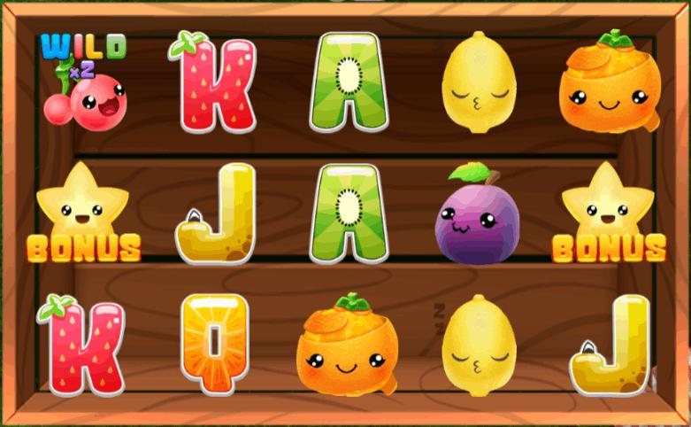 Frooti Booti symboler