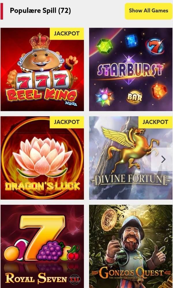 Funbet casino spill (2)